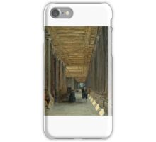 James Holland - The Colonnade of Queen Mary's House, Greenwich iPhone Case/Skin