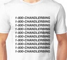 1-800-chandlerbing (black) Unisex T-Shirt