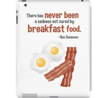 Parks & Recreation // Breakfast Food // Ron Swanson Quotable iPad Case/Skin