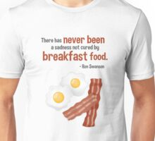 Parks & Recreation // Breakfast Food // Ron Swanson Quotable Unisex T-Shirt