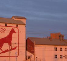 Dingo Flour Mill Fremantle Western Australia Sticker