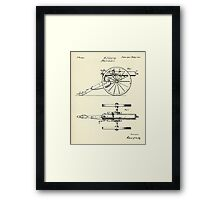 Machine Gun-1865 Framed Print