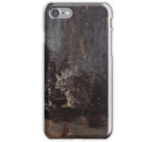 James McNeill Whistler, Nocturne in Black and Gold,  The Falling Rocket iPhone Case/Skin