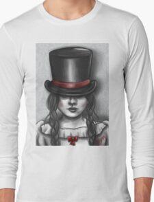 Victorian Girl Long Sleeve T-Shirt