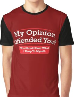 opinion Graphic T-Shirt