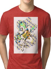 White Lily and The Cross Tri-blend T-Shirt