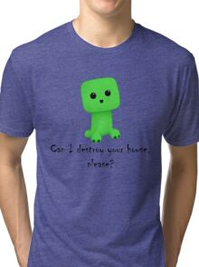 So cute! Tri-blend T-Shirt