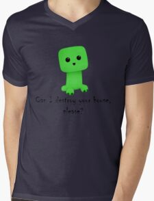 So cute! Mens V-Neck T-Shirt