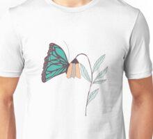 Monarch garden 003 Unisex T-Shirt