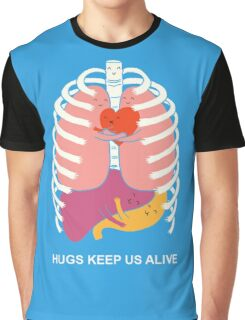 Hugs keep us alive Graphic T-Shirt