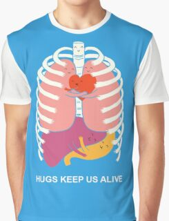 Hugs keep us alive Graphic T-Shirt