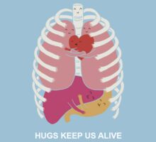 Hugs keep us alive Baby Tee