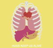Hugs keep us alive One Piece - Short Sleeve