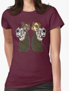 Tiger & Dog  Rebel Womens Fitted T-Shirt