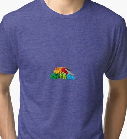 Lego Stones/Blocks Tri-blend T-Shirt