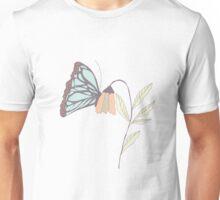 Monarch garden 006 Unisex T-Shirt