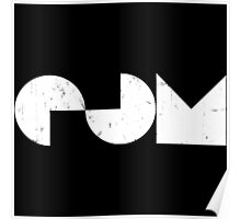 EDM - Electronic Dance Music [White] Poster