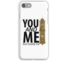 You And Me But Mostly Me- Book Of Mormon iPhone Case/Skin