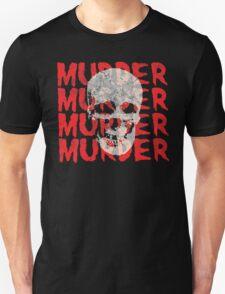 Murder Skull Unisex T-Shirt