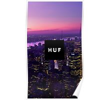 HUF WorldWide City Night Poster