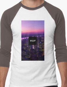 HUF WorldWide City Night Men's Baseball ¾ T-Shirt