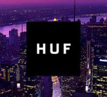 HUF WorldWide City Night Sticker