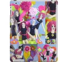 Felt Play Land Montage iPad Case/Skin
