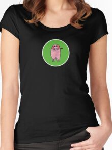 Veggie Percy Women's Fitted Scoop T-Shirt