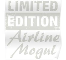 Limited Edition Airline Mogul Poster