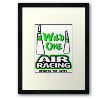 Wild one Air racing Framed Print