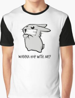 Wanna Hop With Me? (Version 2) Graphic T-Shirt