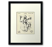 Fireman´s Suit-1880 Framed Print