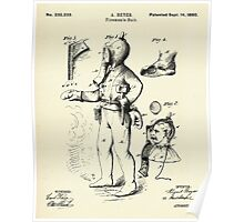 Fireman´s Suit-1880 Poster
