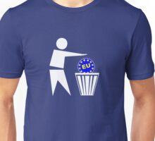 Put the EU in the bin ukip Unisex T-Shirt