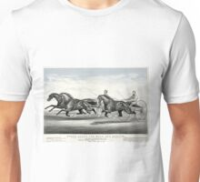Ethan Allen and Mate and Dexter - 1867 - Currier & Ives Unisex T-Shirt