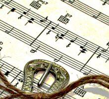 reading music Sticker