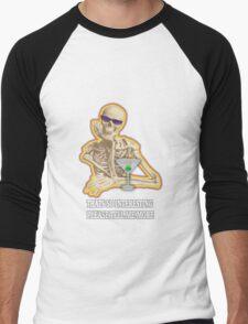 Thats so interesting skeleton Men's Baseball ¾ T-Shirt