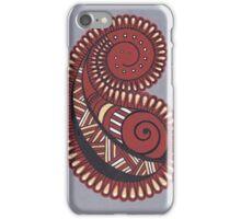 Paisley design pattern iPhone Case/Skin