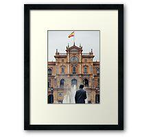 Plaza de Espana - Details from Seville Framed Print