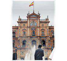 Plaza de Espana - Details from Seville Poster