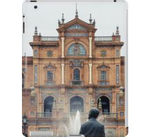 Plaza de Espana - Details from Seville iPad Case/Skin