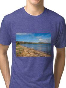 Munising On Lake Superior Tri-blend T-Shirt