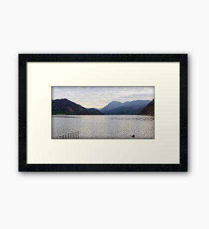 Ennerdale Water, Lake District National Park, UK Framed Print