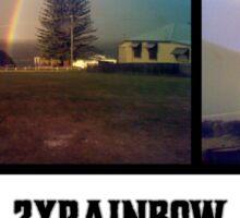 Yamba Double Rainbow Sticker