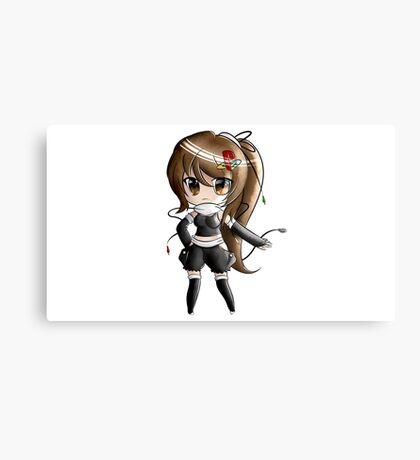 Chibi Playstation Girl Canvas Print