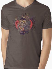 Conor Mcgregor Gorilla Tattoo (brown) Mens V-Neck T-Shirt