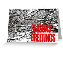 SEASONS GREETINGS 37 Greeting Card