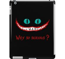 Chever Cat Joker Alice in Wonderland iPad Case/Skin