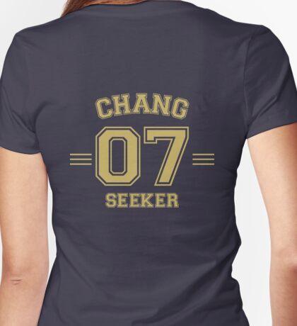 Chang - Seeker Womens Fitted T-Shirt