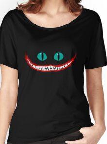 Chever Cat Alice in Wonderland Joker Smile Women's Relaxed Fit T-Shirt
